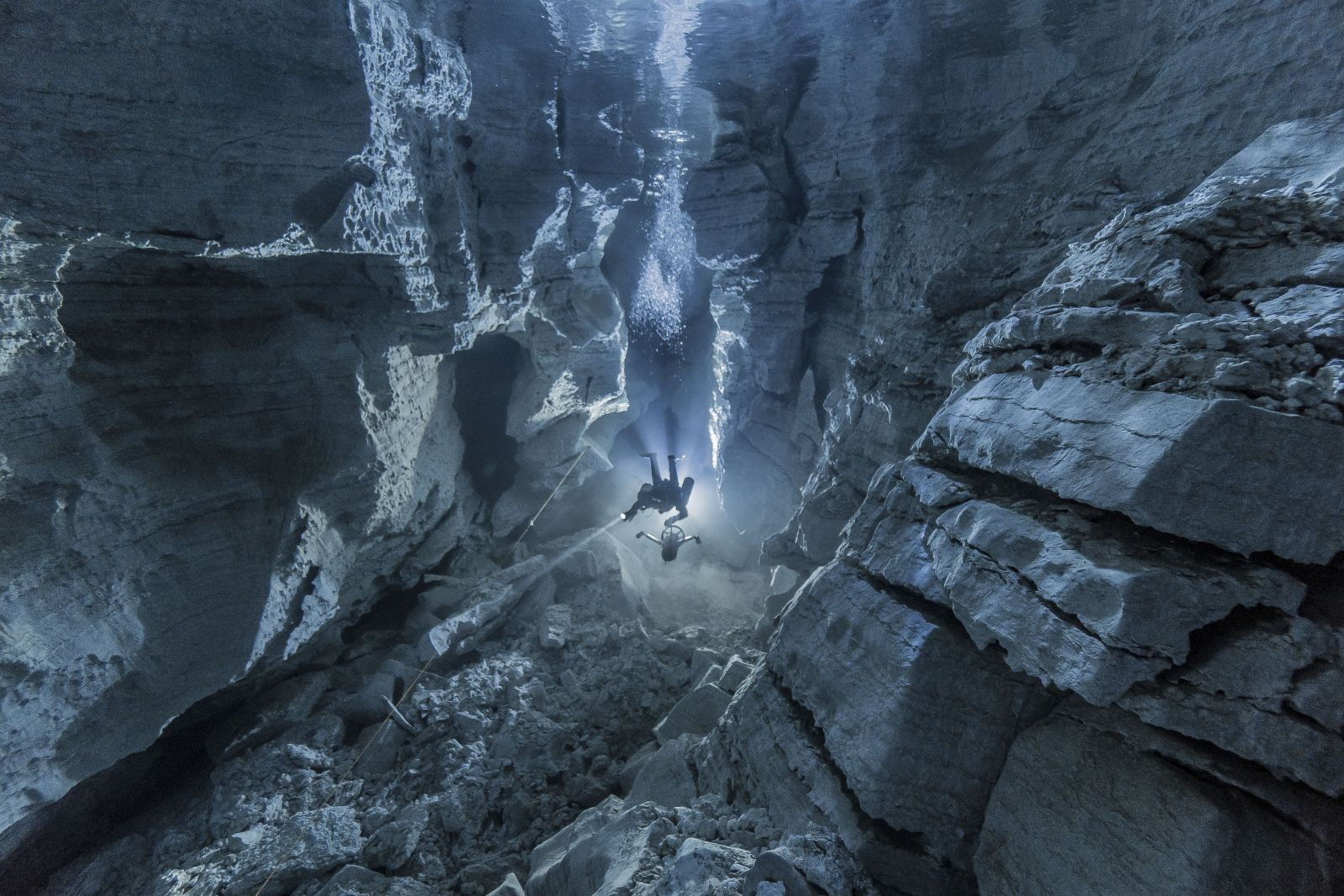 Ordinskaya Cave, © Andrey Gorbunov, Caves Nomination, Most Beautiful Country Photo Contest