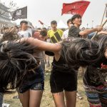 """Beijing Distorsion"", © Laurent Hou, Beijing (Haidian District), Beijing Municipality, China, First Place Professional : Crowd, Ultimate Music Moment"