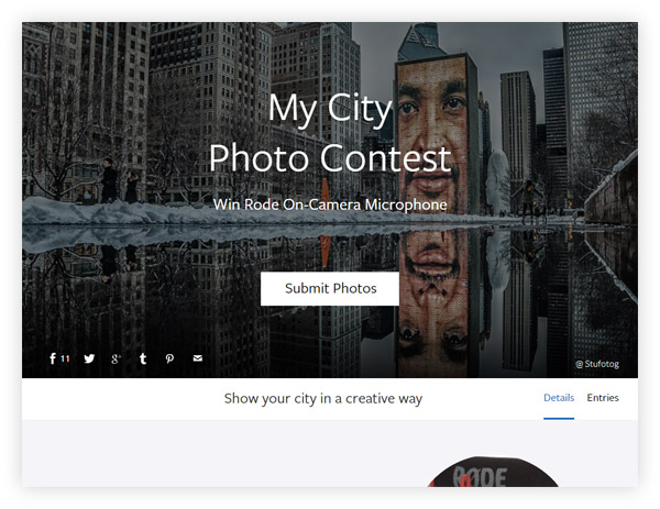 My City Photo Contest