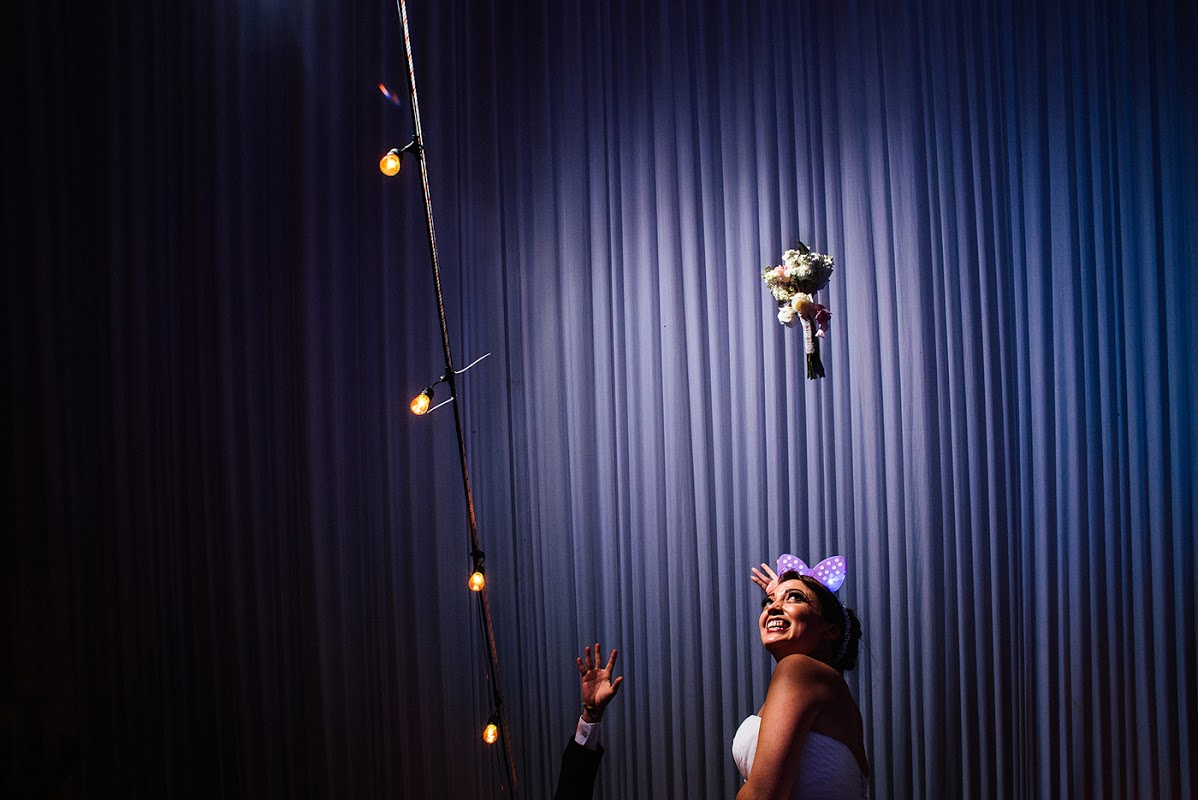 © Jorge Romero, The Bouquet Toss Winner, MyWed Award