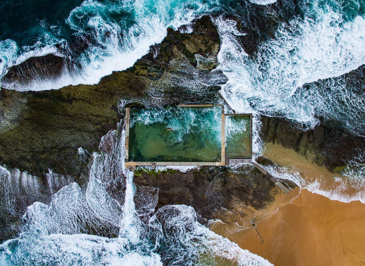 Rock Pool, © Todd Kennedy, 1st Place Winner, Aerials, National Geographic Nature Photographer of the Year Contest