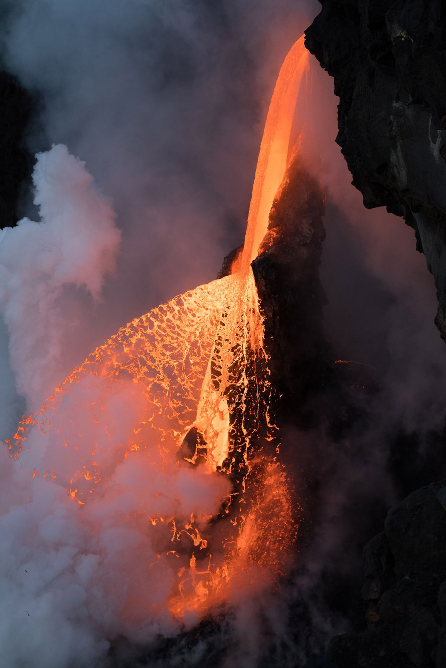 Firefall, © Karim Iliya, 1st Place Winner, Landscapes, National Geographic Nature Photographer of the Year Contest