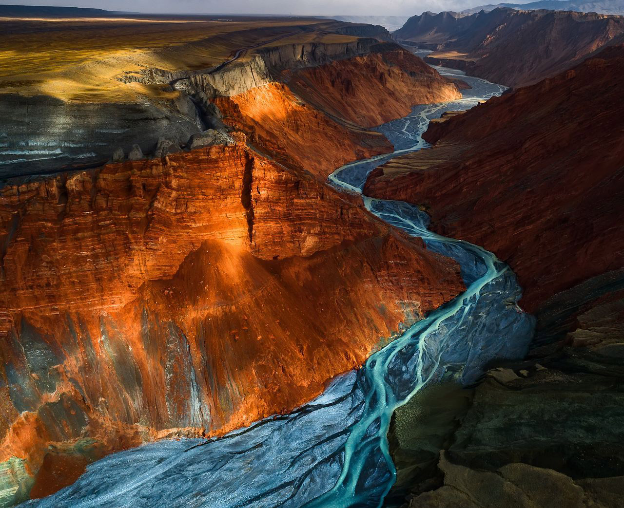 Dushanzi Grand Canyon, © Yuhan Liao, 2nd Place, Landscapes, National Geographic Nature Photographer of the Year Contest