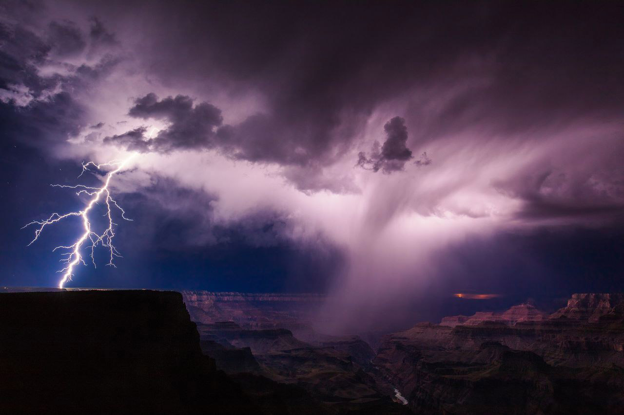 Illuminate, © Mike Olbinski, 3rd Place, Landscapes, National Geographic Nature Photographer of the Year Contest