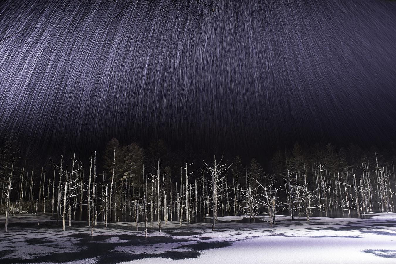 Like a meteor shower, © Yusuke Hayashi, Hokkaido, Japan, Winner Landscape, Nature's Best Photography Asia