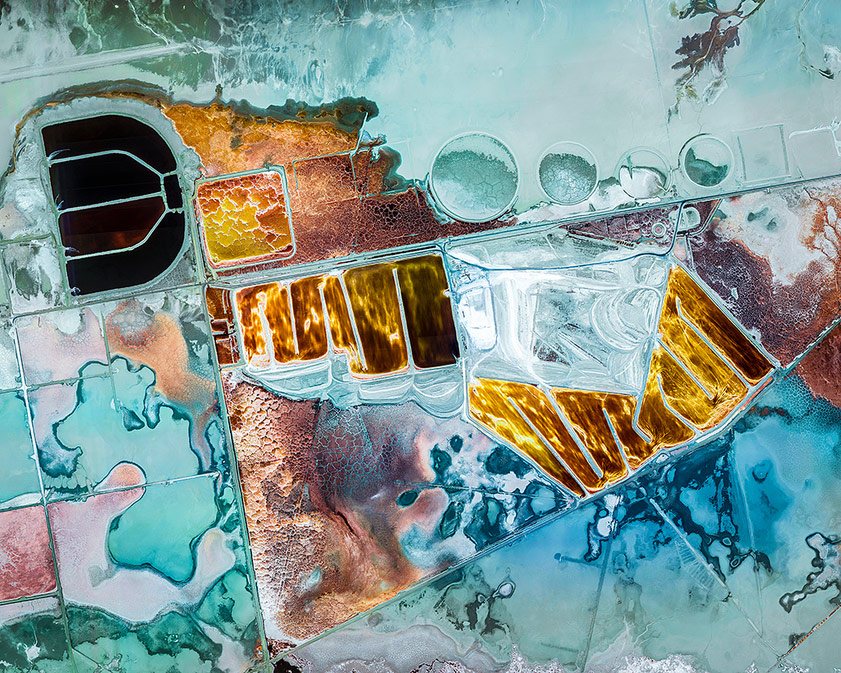 Chemical ponds, © Christophe Martin, France, Fine art: Abstract, ND Awards Photo Contest