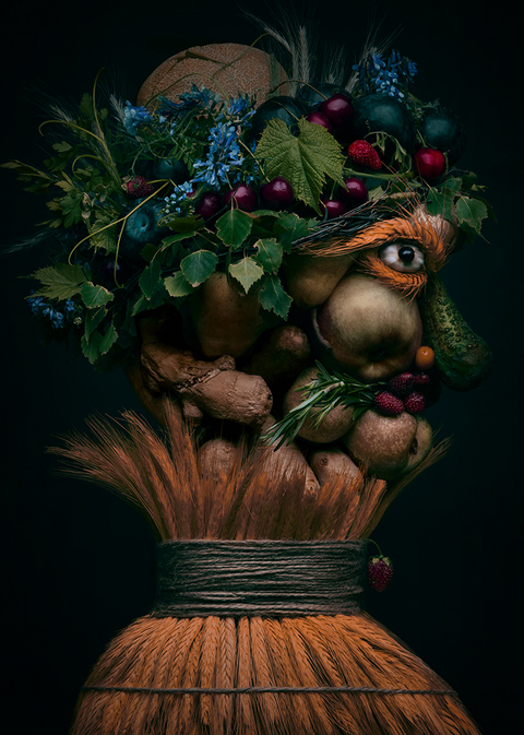 Arcimboldiana, © Anna Tokarska, Poland, Fine Art: Other, ND Awards Photo Contest
