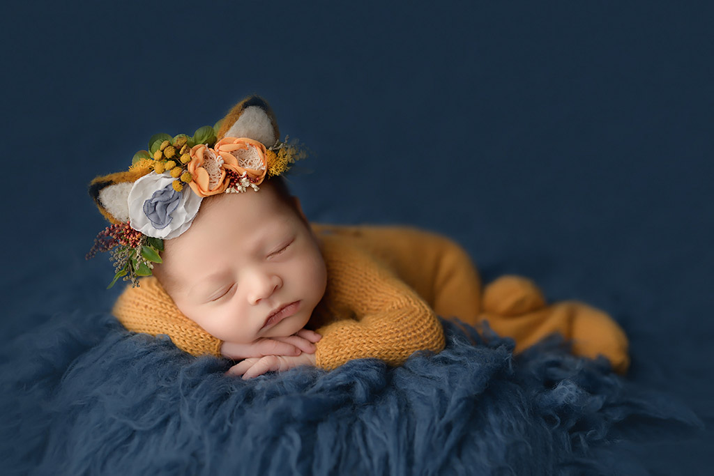 Fox, © Anastasia Folman, Germany, Newborns Photo Contest