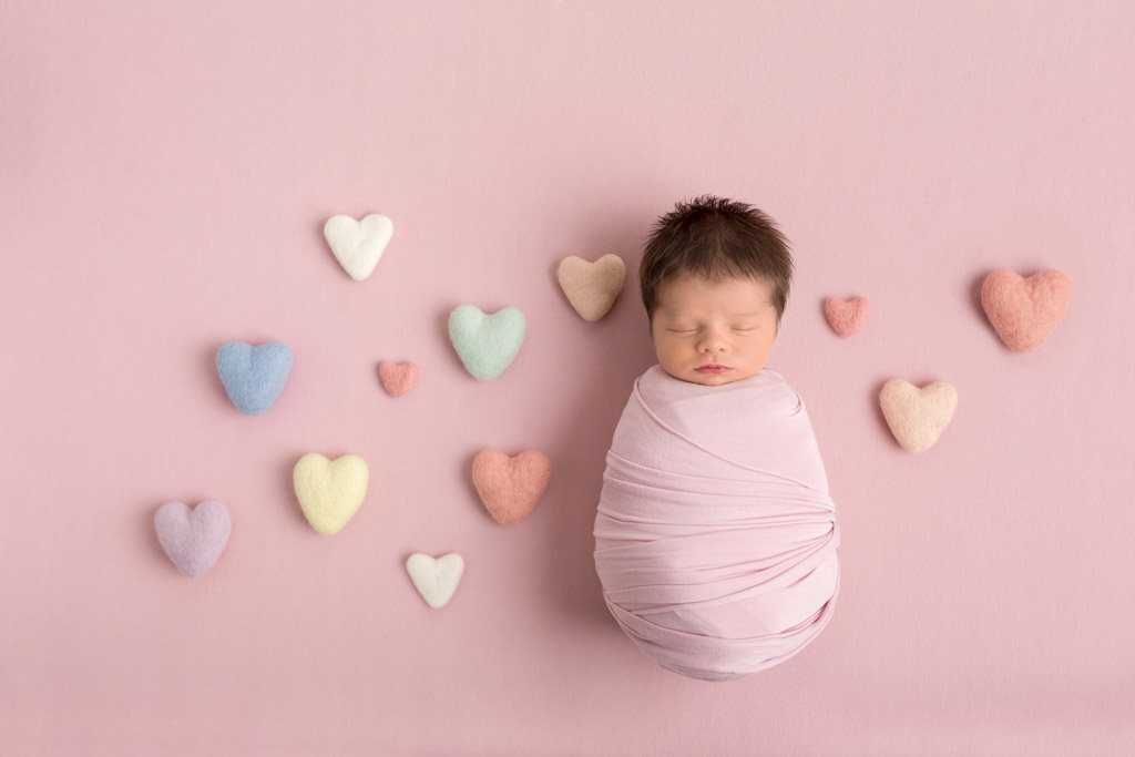 Hearts Full of Love, © Lynne Harper, UK, Newborns Photo Contest