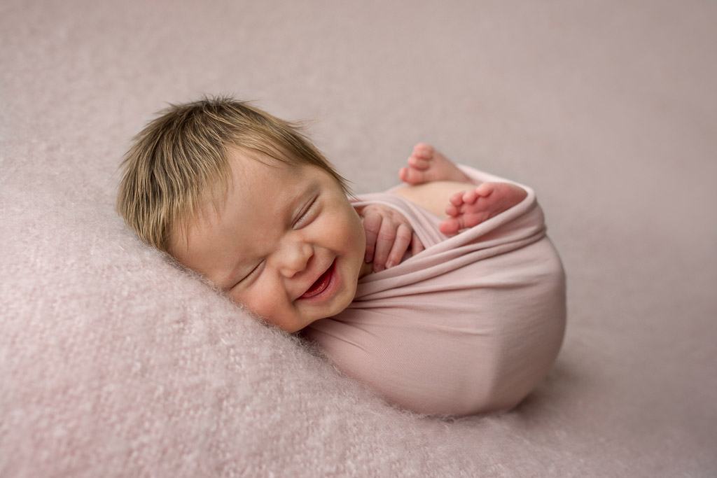 Isabelles smile, © Linda Atkinson, Australia, Newborns Photo Contest