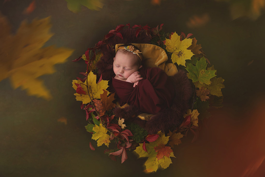 Autumn baby, © Natalia Pipkina, Norway, Newborns Photo Contest