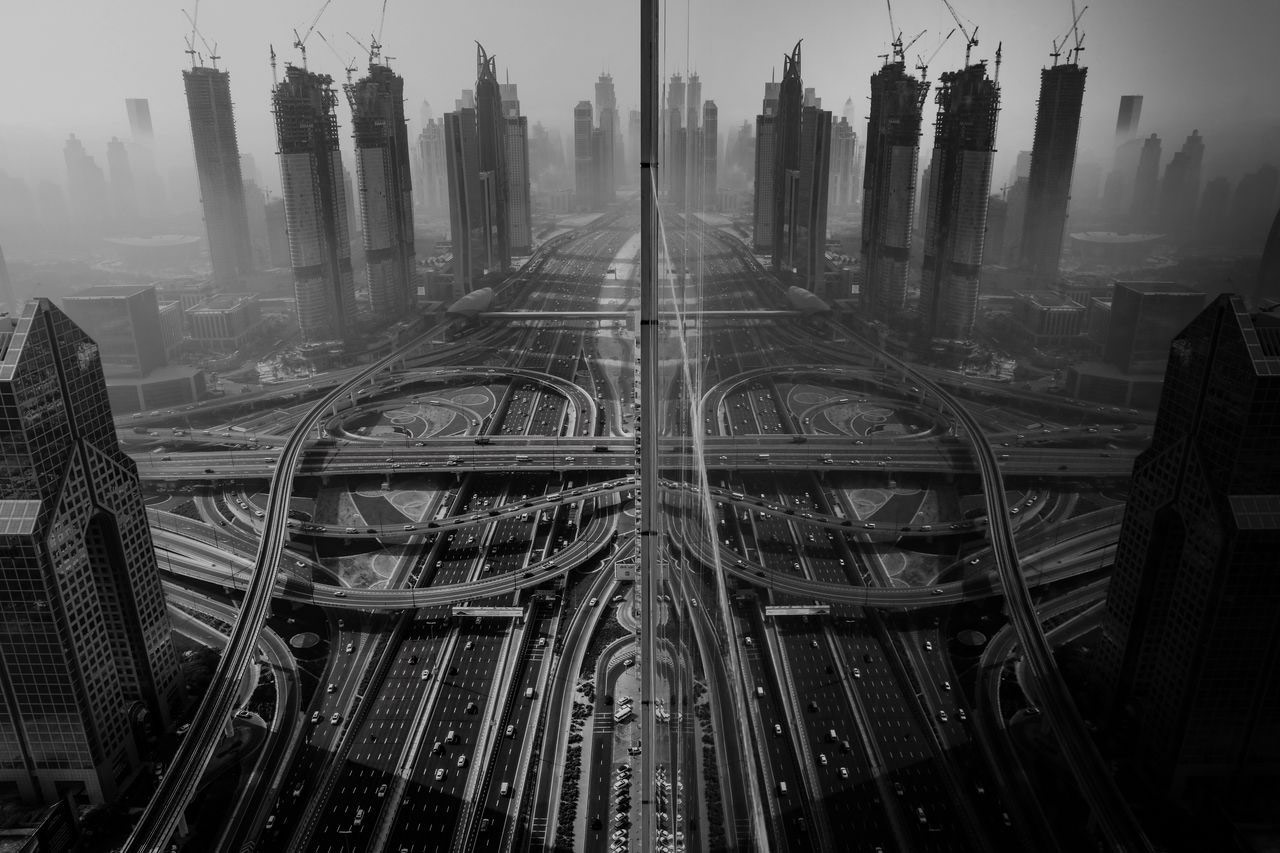 Reflection, © Gaanesh Prasad, Third Place Winner, Cities, National Geographic Travel Photographer of the Year Contest