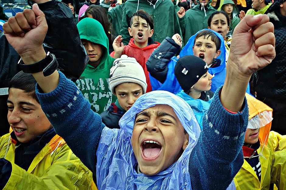 Idomeni's Refugees Uncertain Future, © Filip Warwick, 3rd Prize, Nikon Photo Contest