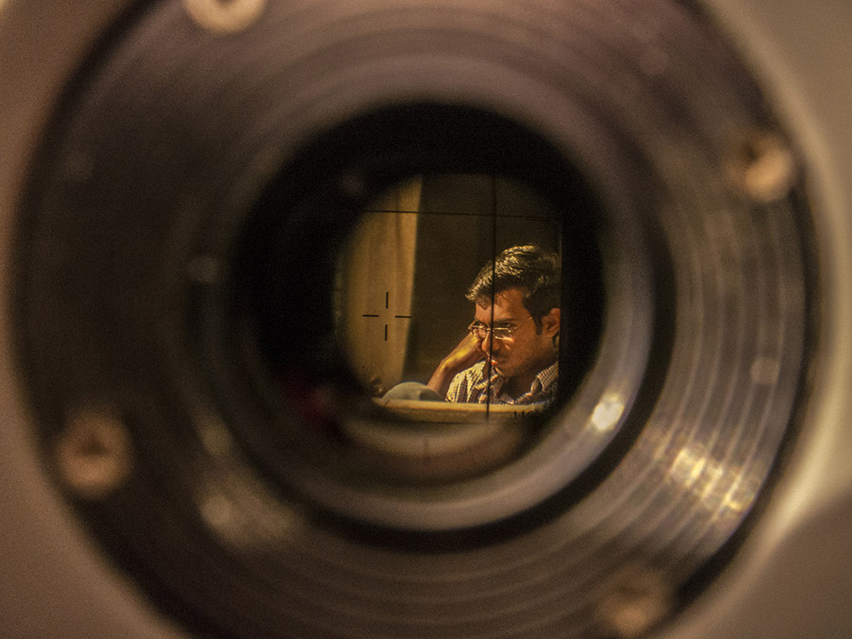 Finding Film, © Sagar Shiriskar, 2nd Prize, Nikon Photo Contest