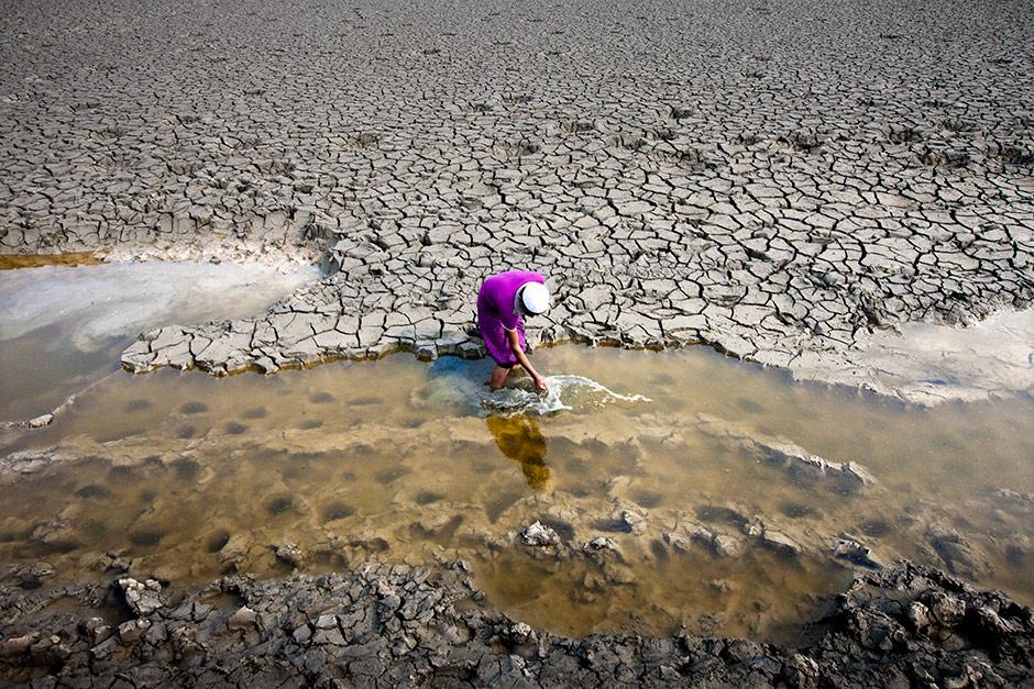 Last Rain Water, © K M Asad, 3rd Prize, Nikon Photo Contest