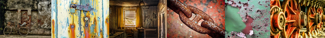 Decay, Corrosion, Rust… - New York Center for Photographic Art