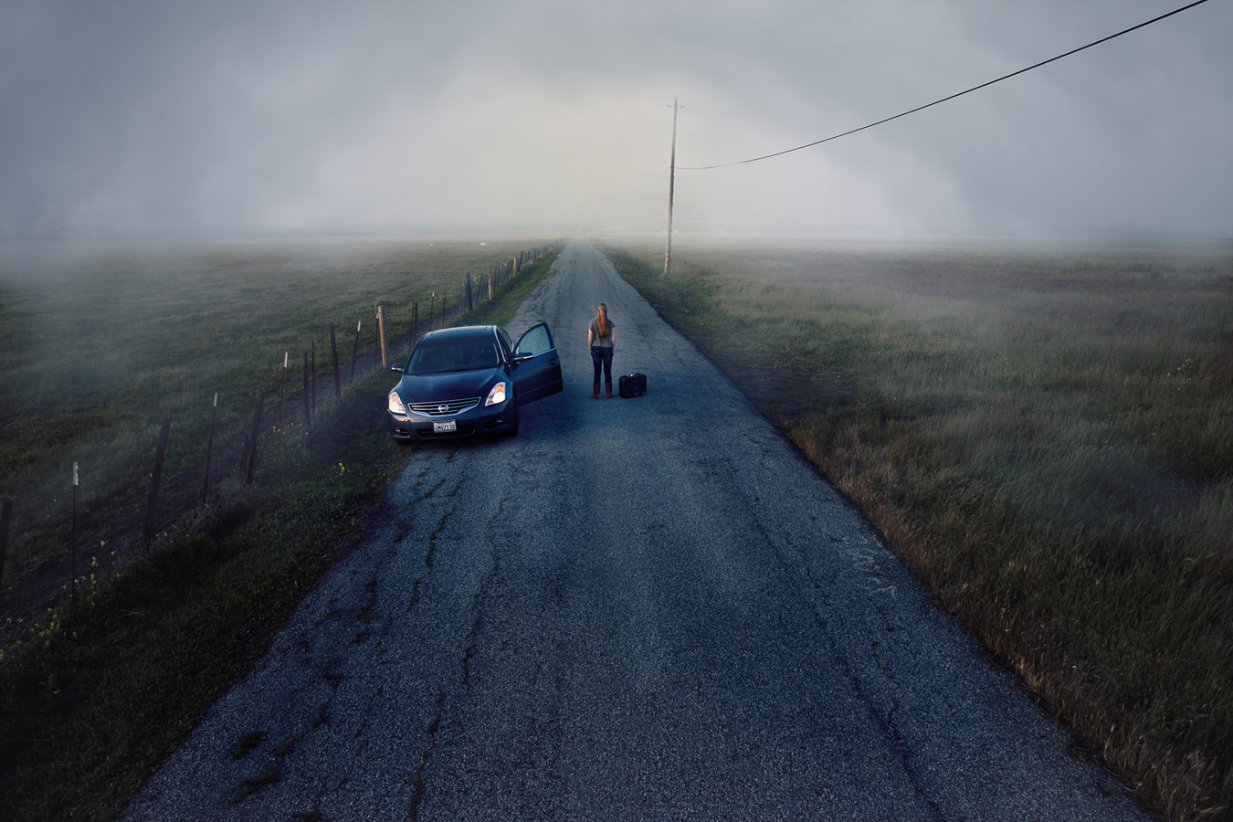 """Sometimes your road chooses you"", © Craig Colvin, San Jose, CA, United States, Ideas, One Life Awards"
