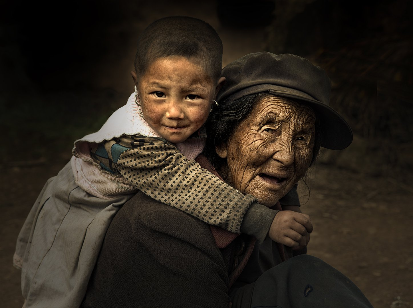 Grand Smile, © Wenyuan Li, United States, Campina Exhibitions Bronze Medal, Onyx International Exhibition of Photography