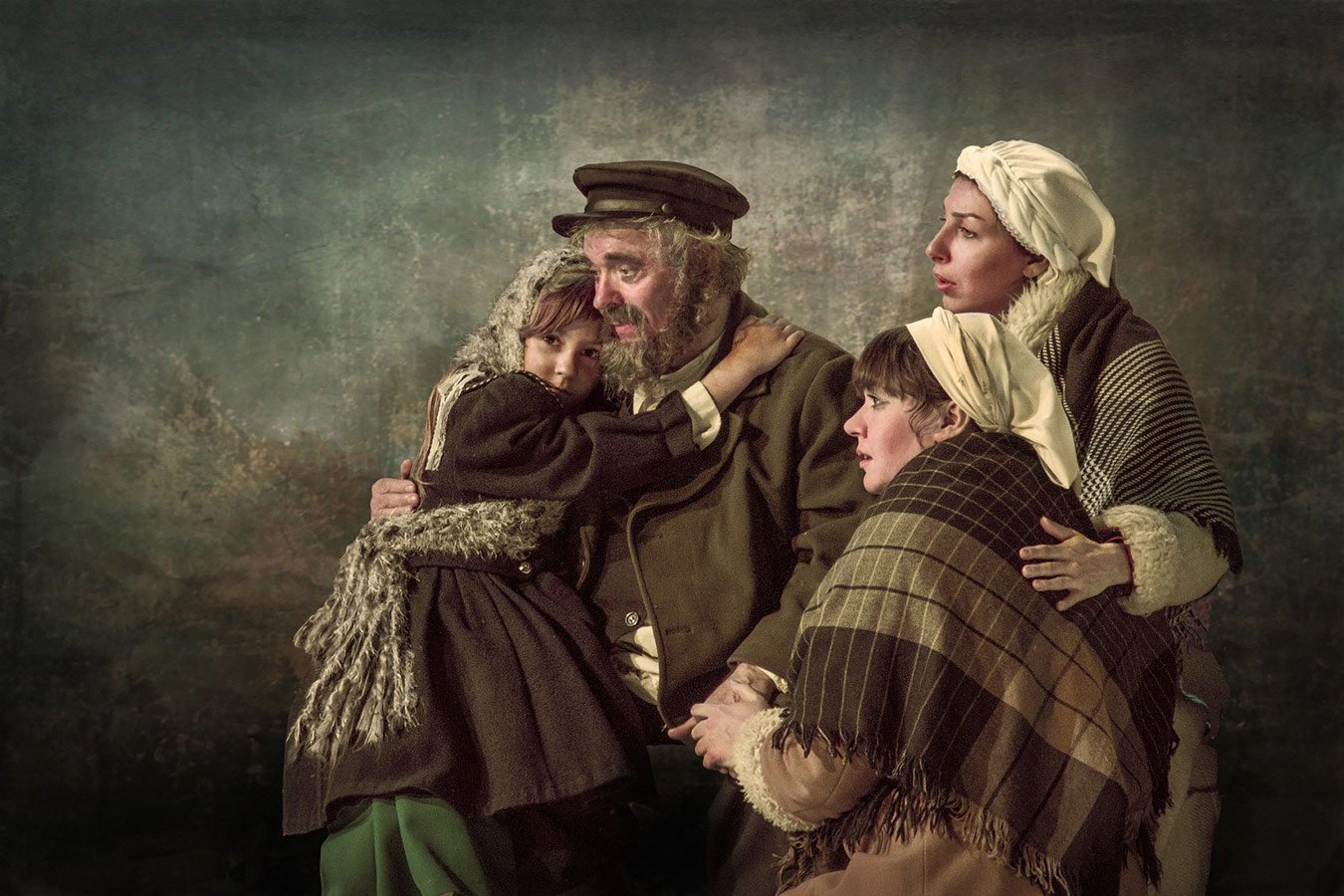 Tevye milk seller, © Vladimir Maltsev, Ukraine, PSA Gold Medal, Onyx International Exhibition of Photography