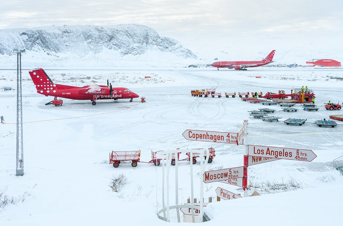 Kangerlussuaq airport, Greenland, © Andy Holliman (United Kingdom), Spirit Of Travel Winner, Outdoor Photographer of the Year - OPOTY