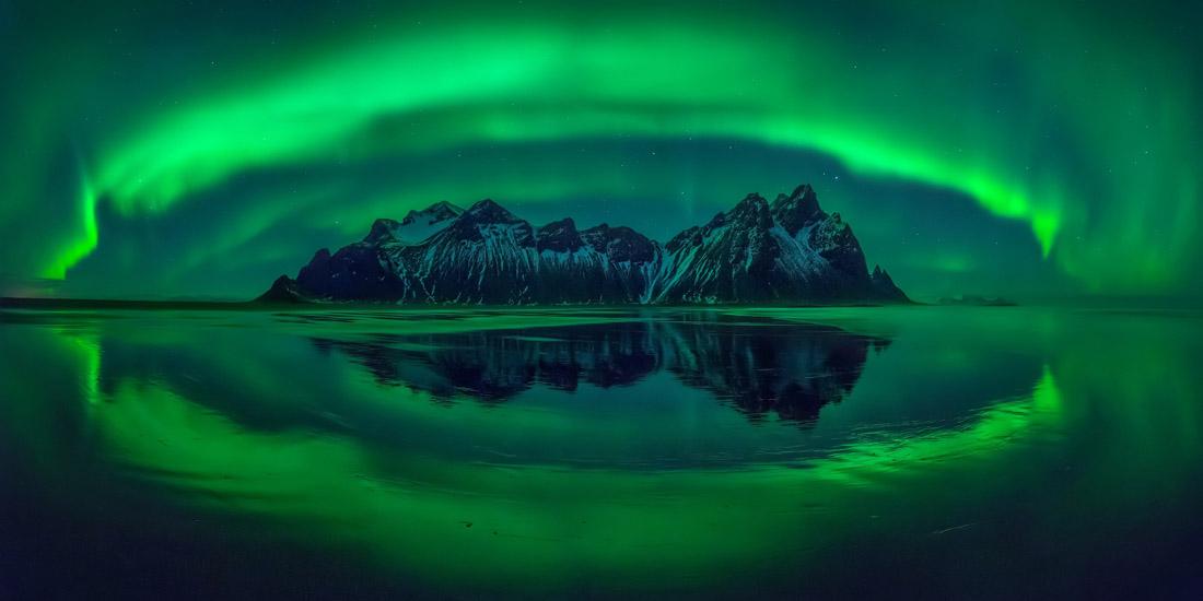Eye of Stokksnes, Iceland, © Wojciech Kruczynski, Poland, 2017 Carolyn Mitchum Award Winner, EPSON International Pano Awards