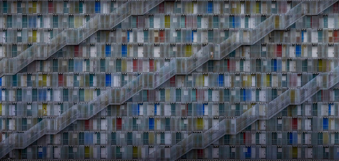 Life In Complex, Gifu, Japan, © Daniel Eisele, Germany, Open Award Winner – Built Environment / Architecture, EPSON International Pano Awards