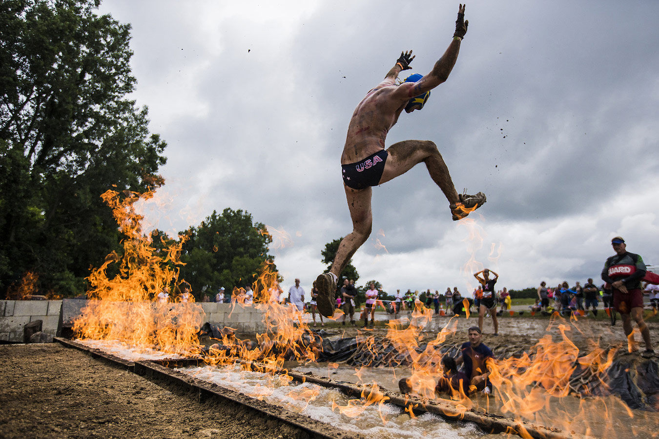 """Tough Mudders"", © Gary Land, Quincy, MA, United States, First Place Professional : Sports, Grand Prize, PDN Adrenaline - Sports and Action Photography"