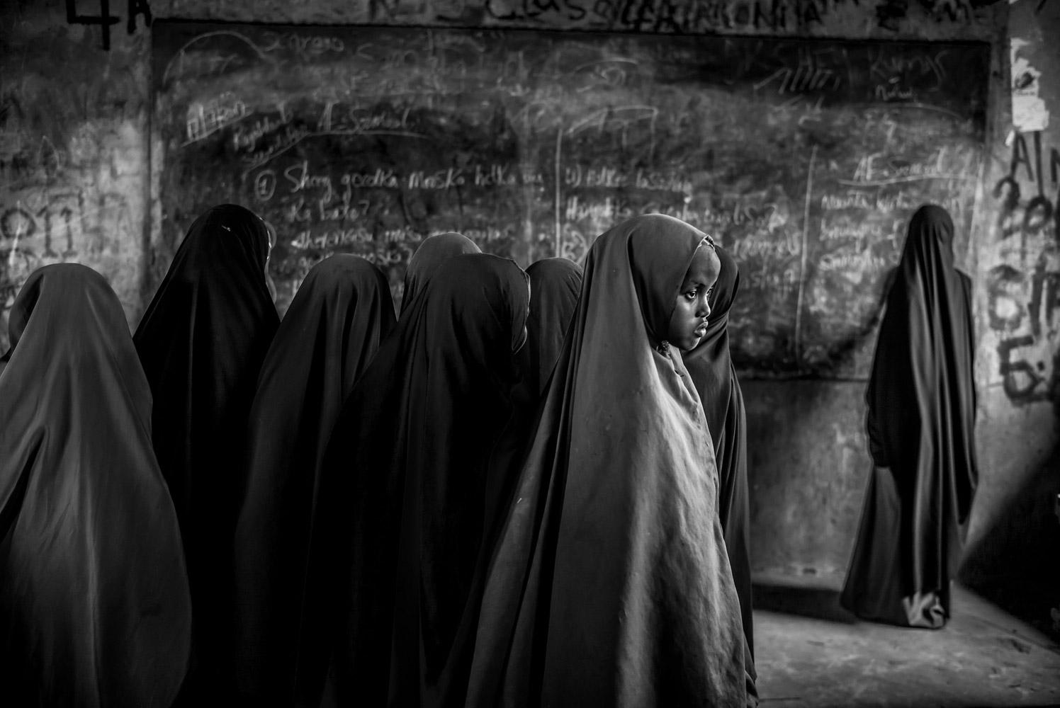 Attention Lost: Thinking In Other Future, Dadaab Refugee Camp In Kenya, © Eduardo Lopez Moreno, Nairobi, Kenya, First Place Amateur : Personal Work, PDN Faces - Portrait Photography Contest
