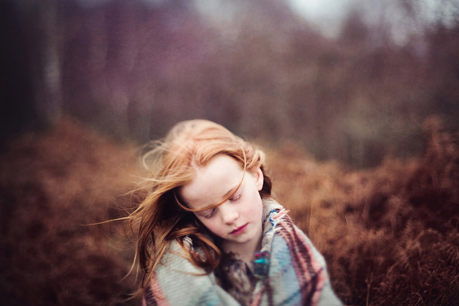 Dreaming Of Summer, © Tiree Dawson, Kendal, United Kingdom, First Place Professional : Babies/Children, PDN Faces - Portrait Photography Contest