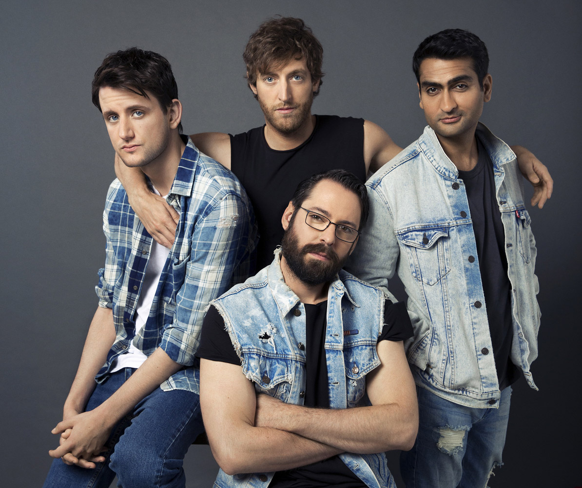 "The Cast Of Hbo's ""Silicon Valley"" As ""The Outsiders"", © Elisabeth Caren, Santa Monica, Ca, United States, Professional : Celebrities, PDN Faces - Portrait Photography Contest"