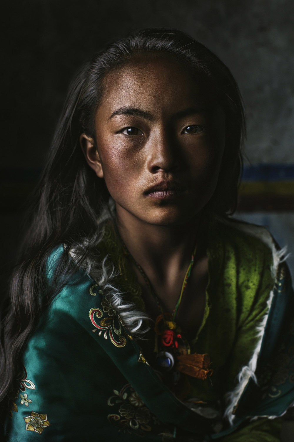 Chodron, Tibet, 2017, © Amy Luo, West Hills, CA, United States, First Place Professional : Personal Work, PDN Faces - Portrait Photography Contest