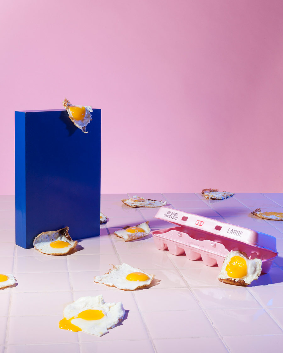 Surreal And Milk, © Madeline Brogdon, Chicago, IL, United States, First Place Student/Amateur : Personal Work, PDN Taste - Food Photography Awards
