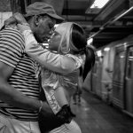 Last First Kiss, © Dutch Doscher, New Canaan, CT, United States, Amateur : Street-Photography, Perspectives PhotoPlus Expo Annual Photography Contest