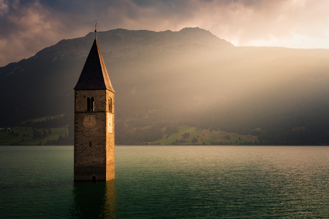 Reschen Lake, © Thomas Hofmann, Berlin, Germany, Amateur : Landscapes, Perspectives PhotoPlus Expo Annual Photography Contest