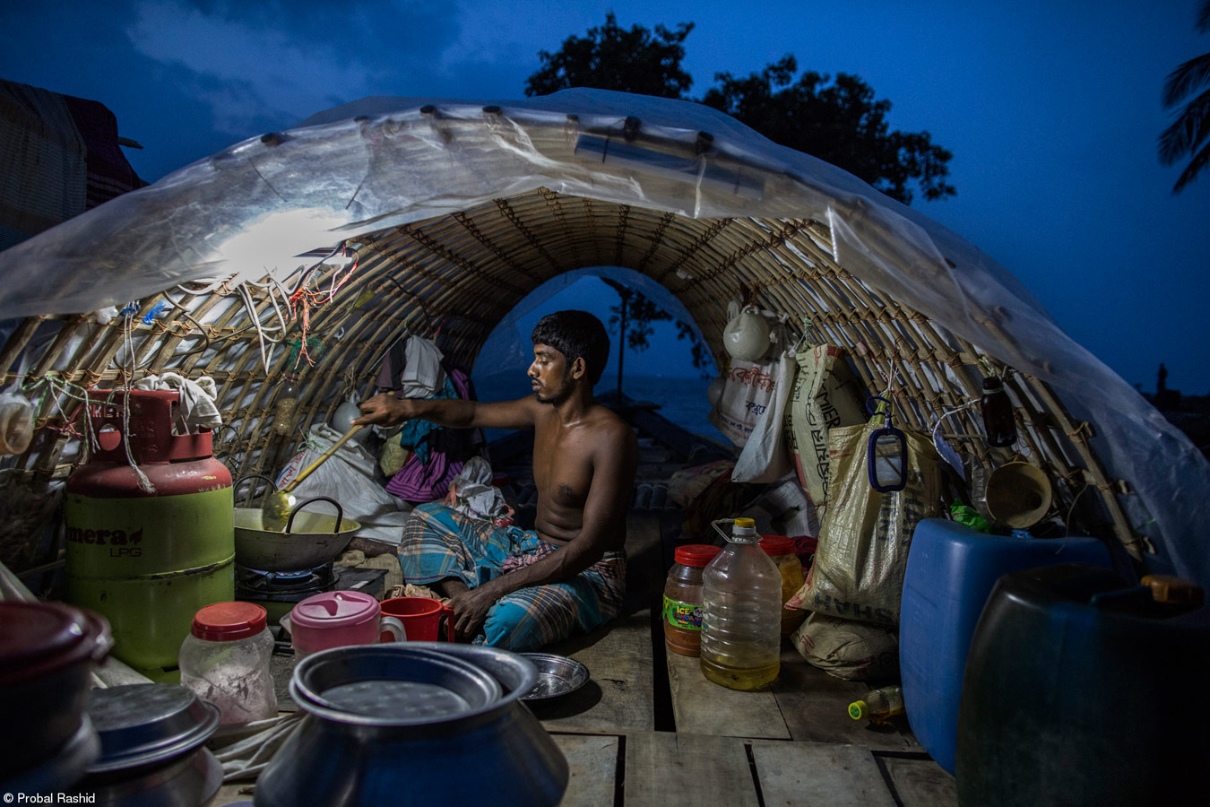 A Fisherman, © Probal Rashid, Bangladesh, 1st Place, World Food Programme Food for Life, Pink Lady Food Photographer of the Year