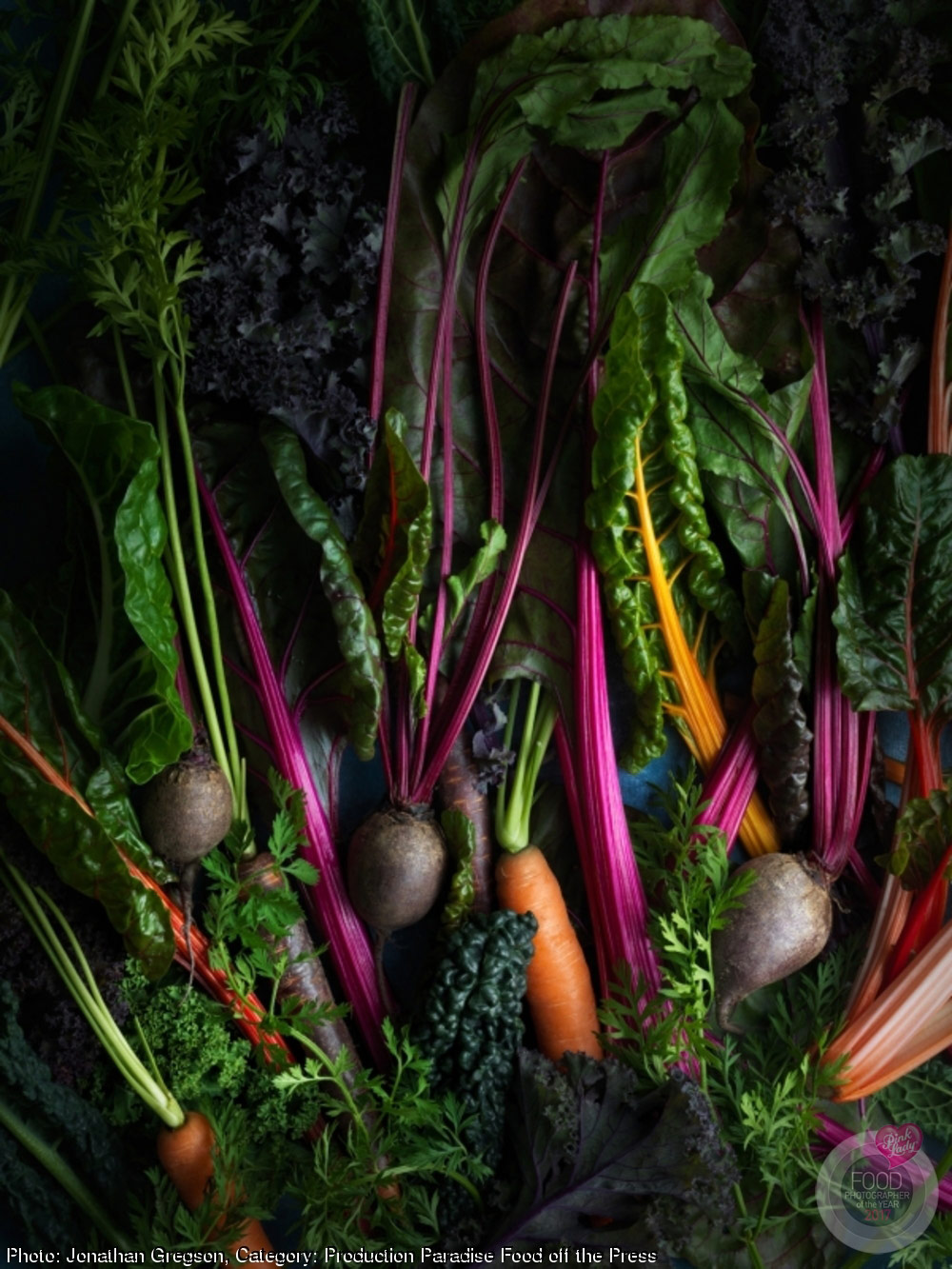 © Jonathan Gregson, United Kingdom, 1st, Category Production Paradise Food off the Press, Pink Lady Food Photographer of the Year 2017 Winners