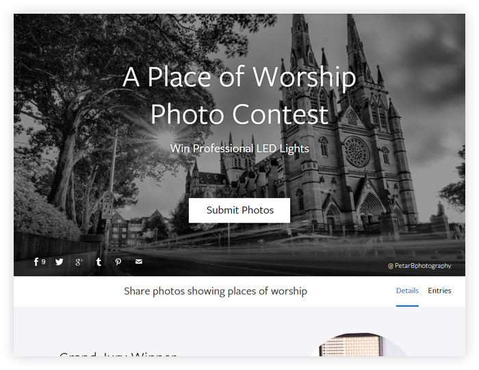 A Place of Worship Photo Contest