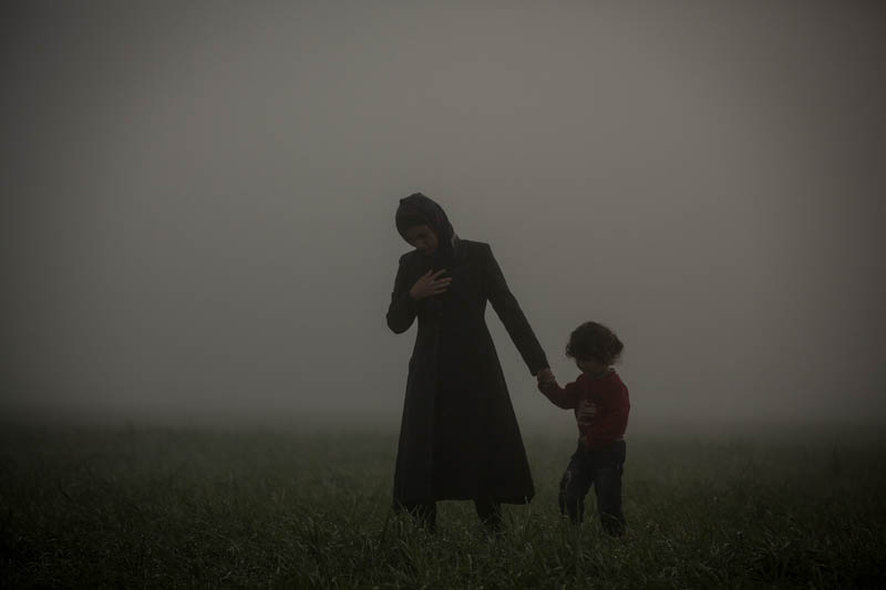 Mother and son, Olmo Calvo, General News, Pictures of the Year International — POY