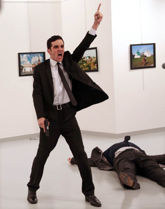 An Assassination, Burhan Ozbilici/AP, Spot News, Pictures of the Year International — POY