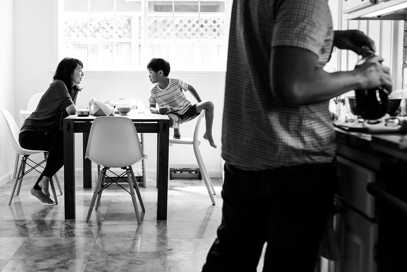 """Lunch"", © Jenna Christina, San Jose, Ca, United States, Family, Rangefinder Family Photography Contest"
