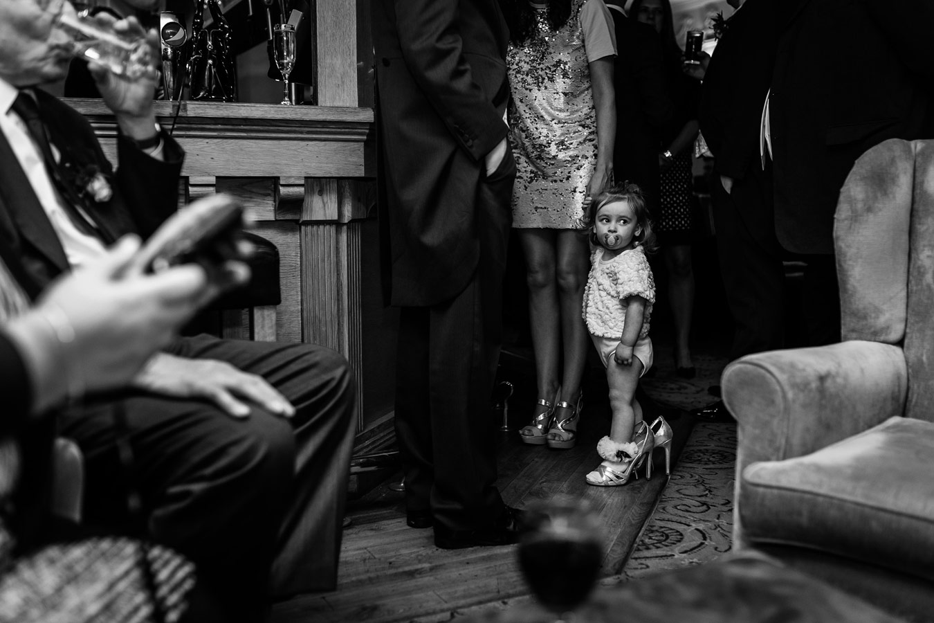 The Flower Girl, © Steve Grogan, Manchester, Rangefinder Wedding Contest