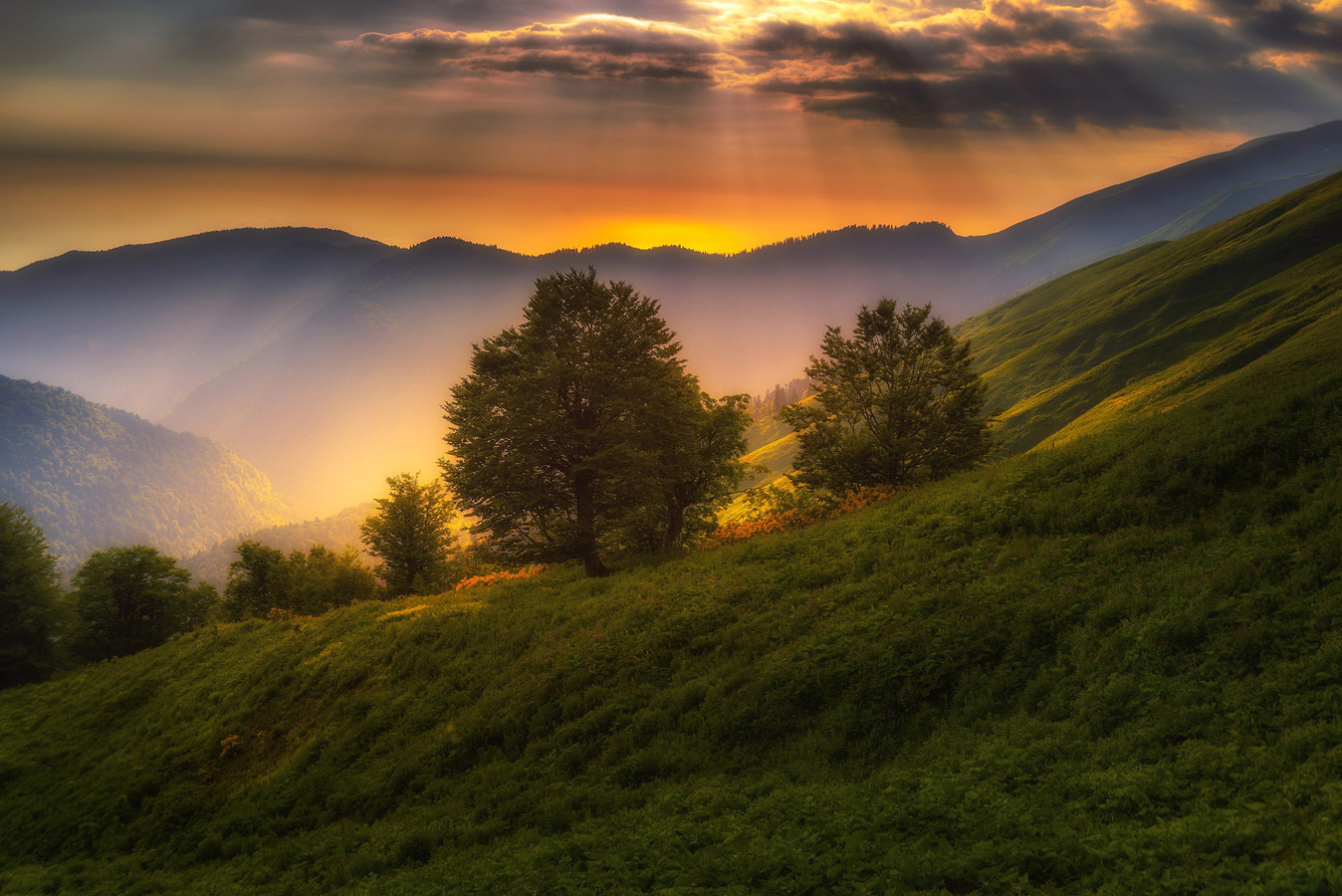 "In The Rays of Sunset, Krasnaya Polyana, © Ilya Bunin, 2nd place, ""Russian Civilization"" International Photo Contest"