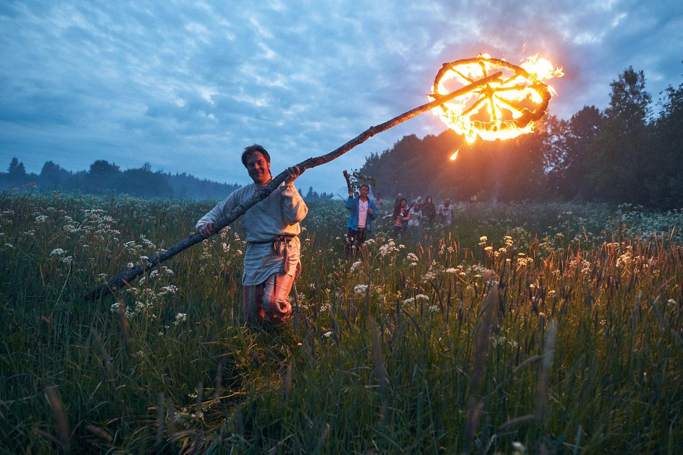 "Annual wheel movement, Kurkieki, Karelia, © Julia Lilishentseva, 1st place, ""Russian Civilization"" International Photo Contest"