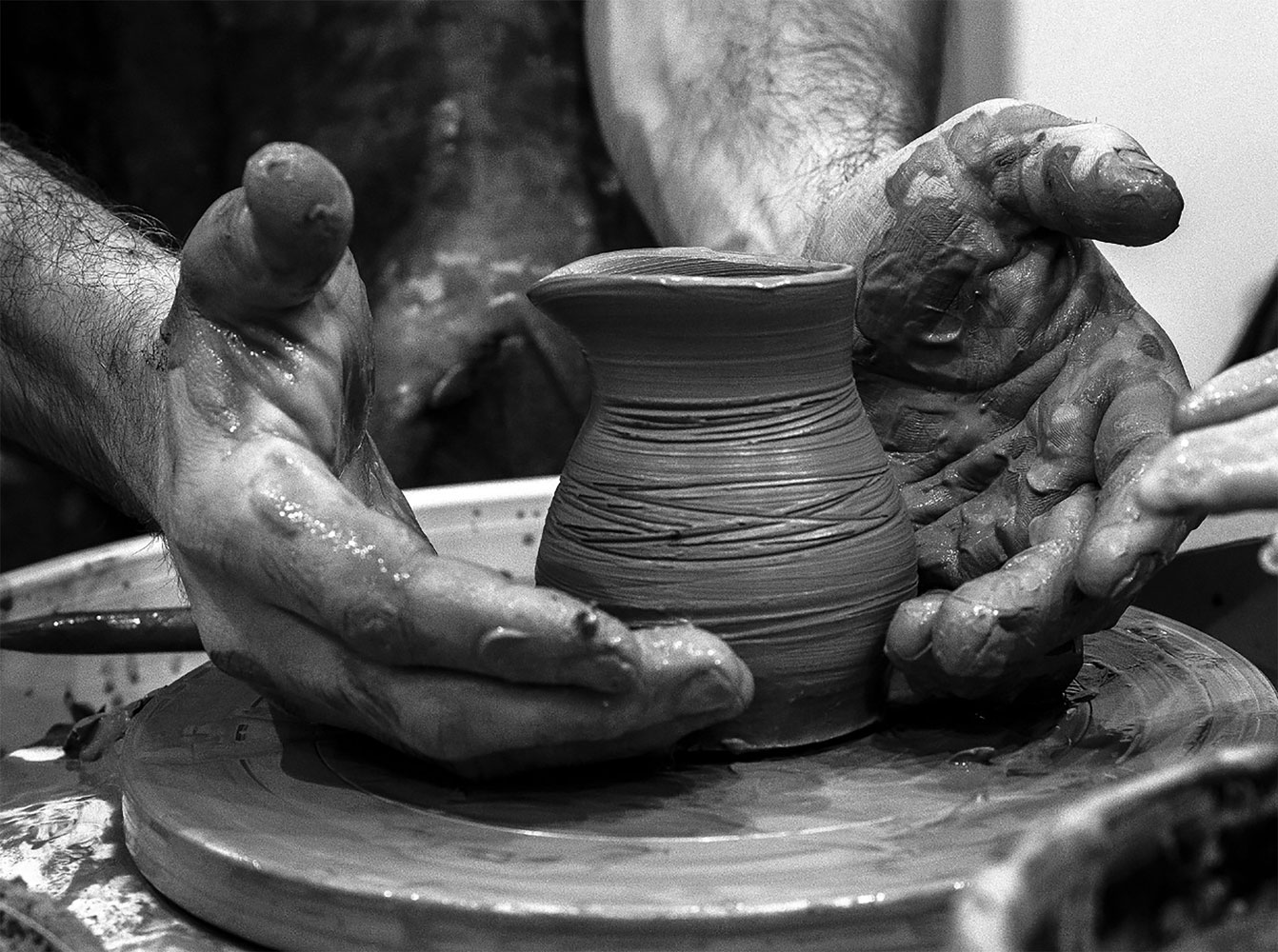 "From the series ""Hands of the Master"", © Yuri Chernov, 1st Place, Russian Civilization International Photo Contest"