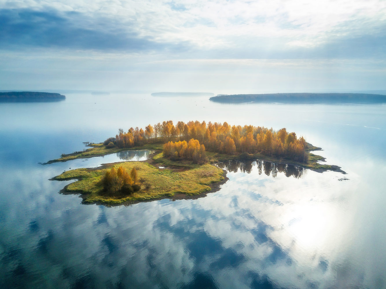 Soaring Island, © Vasily Yakovlev, 1st Place, Russian Civilization International Photo Contest