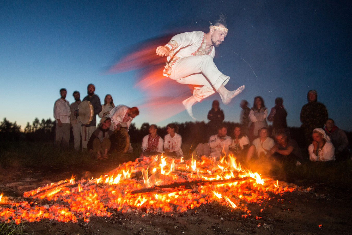 Fire Jump, © Dmitry Feoktistov, Russian Civilization International Photo Contest
