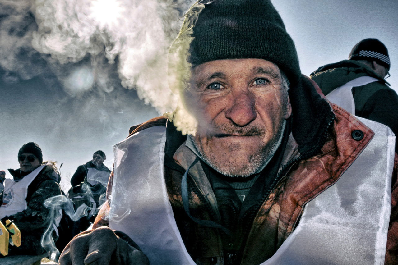 Portrait of a Siberian Fisherman, © Vladimir Korobov, 3rd Place, Russian Civilization International Photo Contest