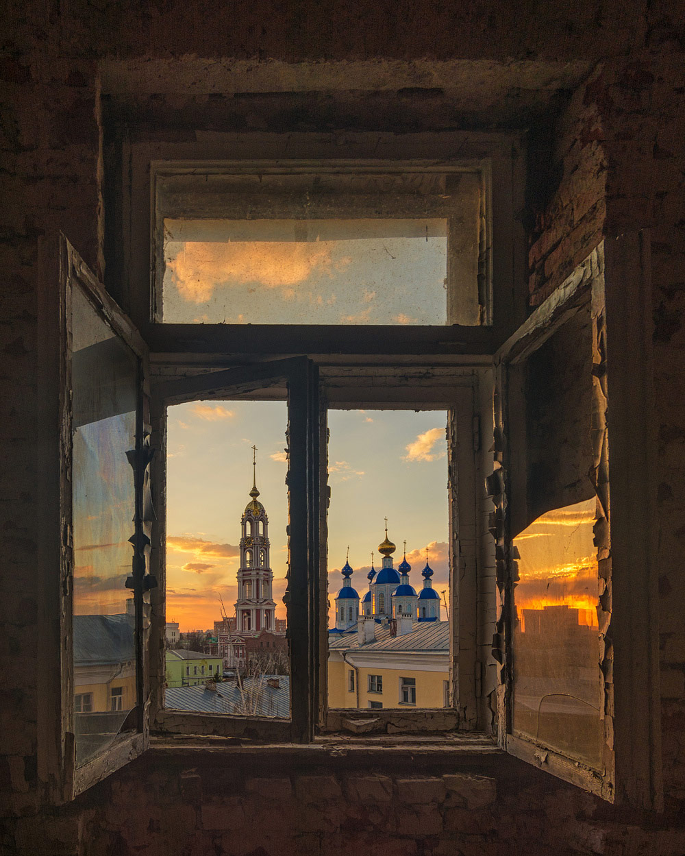 "A look through the old window, © Valery Gorbunov, Winner in category Cultural Heritage, ""Most Beautiful Country"" Photo Contest"