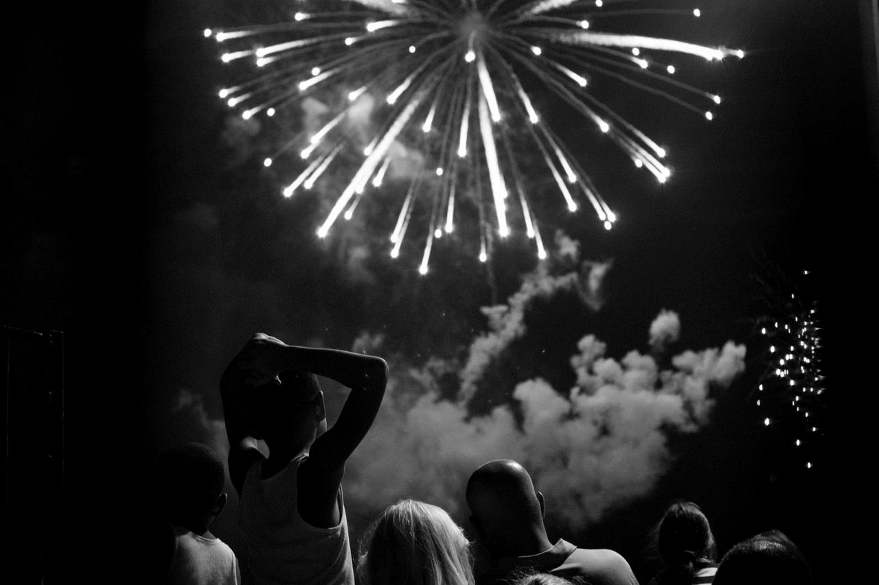 Fireworks on the River, © Hannah Clark, Savannah, Georgia USA, Grand Prize, Santa Fe Photographic — Celebrate