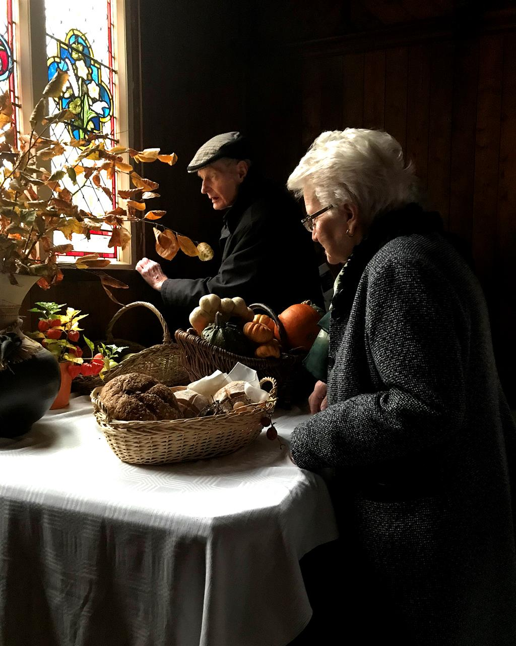Thanksgiving, © Tom Larkin, County Monaghan, Ireland, Santa Fe Photographic — Celebrate